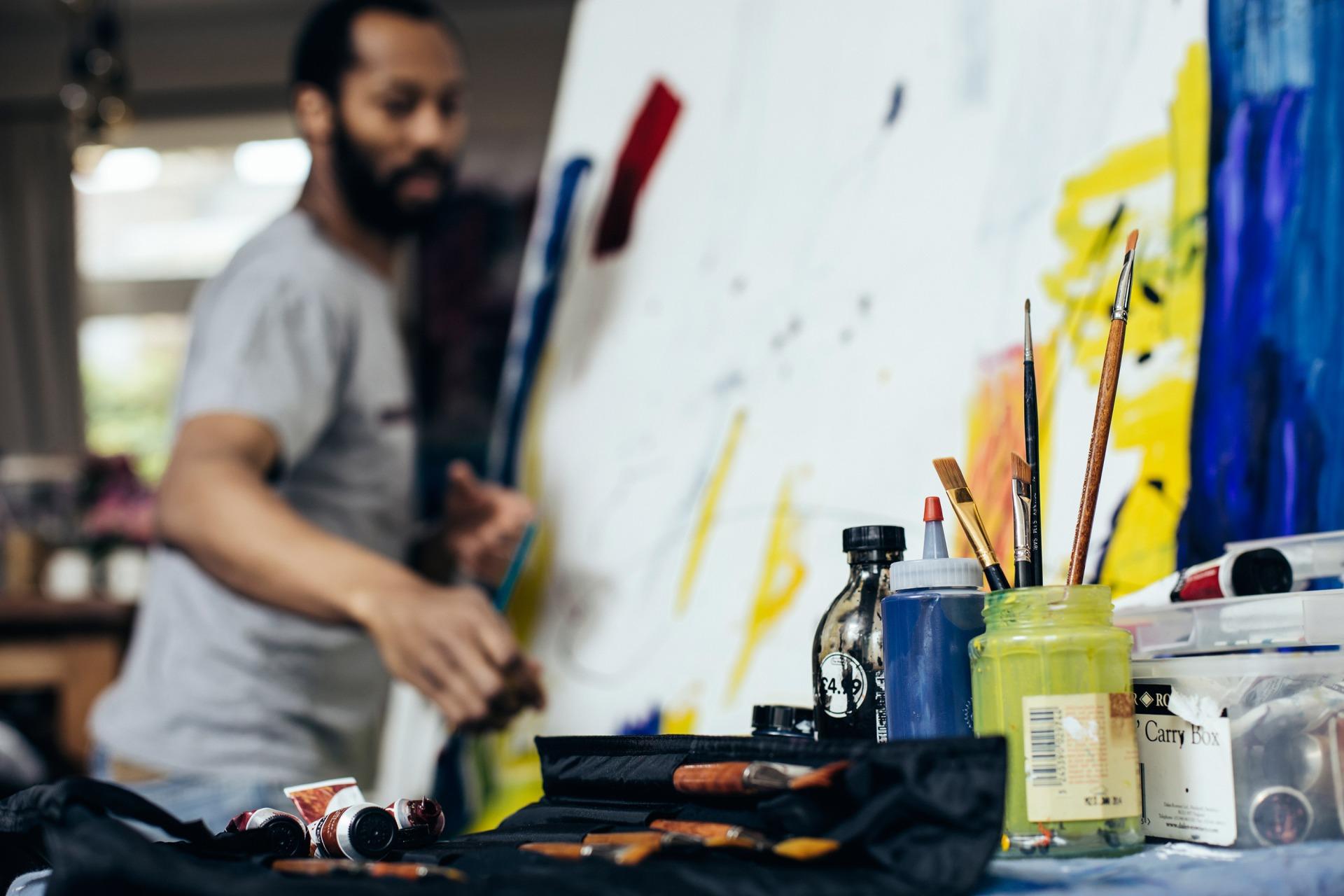 artist, design, art