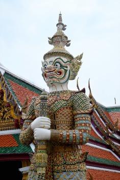 Bangkok: Grand Palace, Ramakien Figure