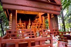 Bangkok: Jim Thompson's House - insde of the spirit house