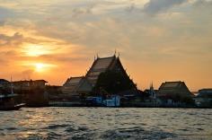 Bangkok - Sunset river cruise.