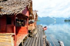 Cheow Lan Lake - Raft house
