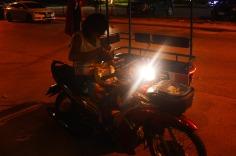 Kanchanaburi: taxi-motorcycle