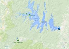 Khao Sok National Park: map