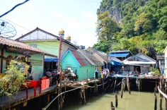 Phang Nga Bay - Ko Panyi, floating village