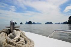 Phang Nga Bay - speedboat trip