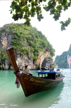 Phang Nga Bay - long tailed boat