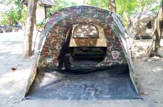 Similan Islands: Ko Miang - tent