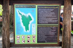 Similan Islands: Ko Miang - map