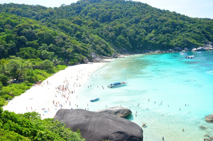 Similan Islands: Ko Similan - view point