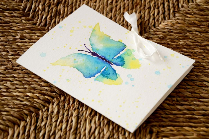 Watercolor giftcard